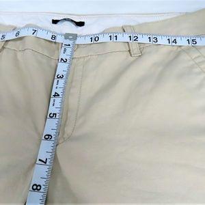 GAP Pants - Ladies Khaki Low Rise Flat Front Chinos By GAP